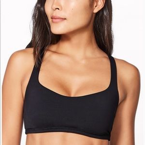 Black Lululemon Free to Be Sports Bra